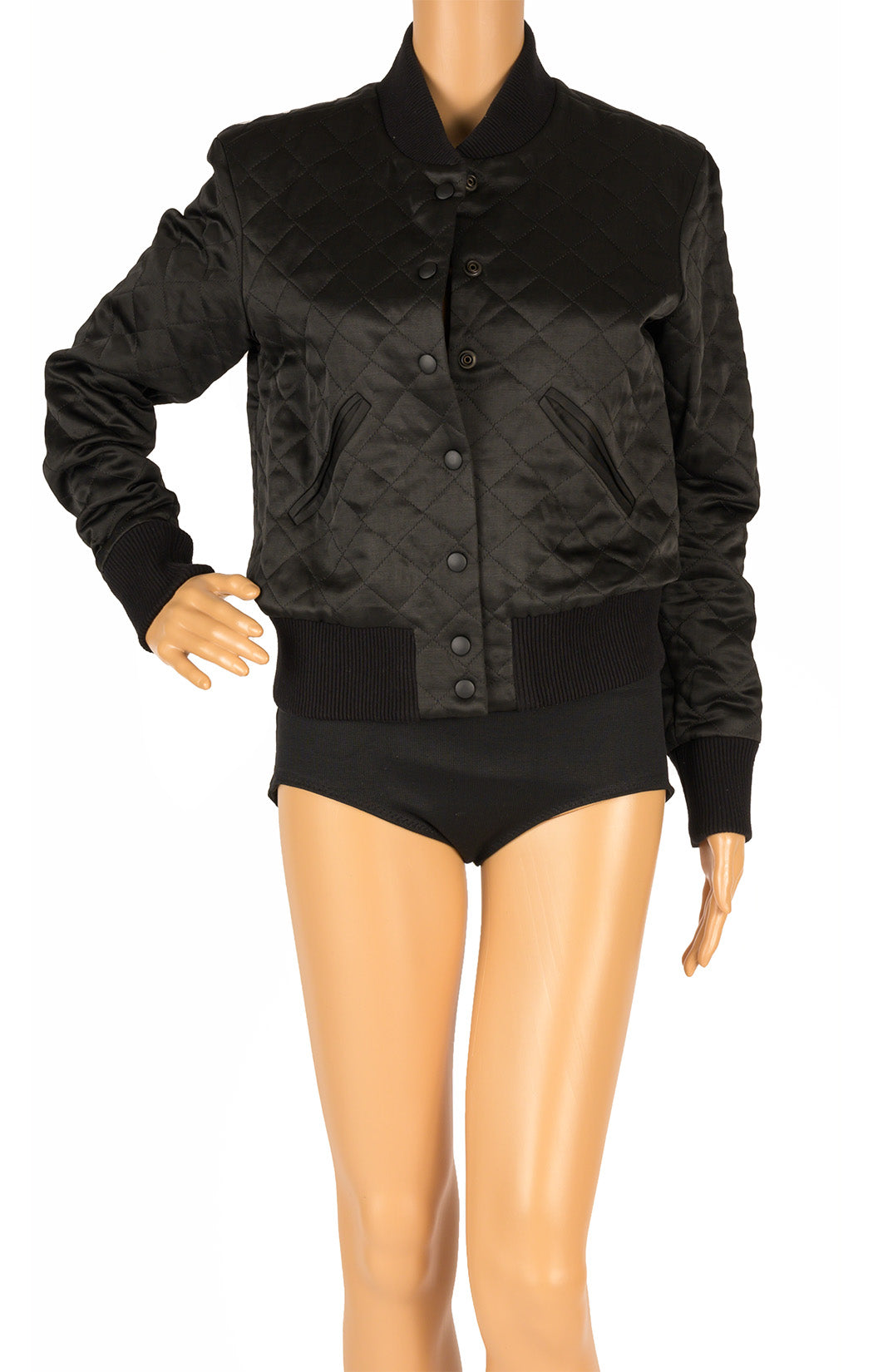 Front view of SMYTHE Bomber jacket Size: 4