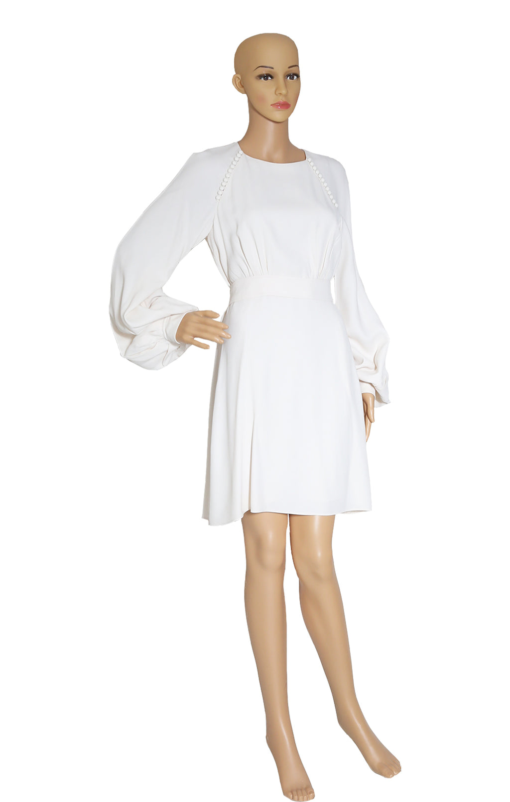 Front view of CHLOE  Ivory Dress Size: FR 36 (US 4)