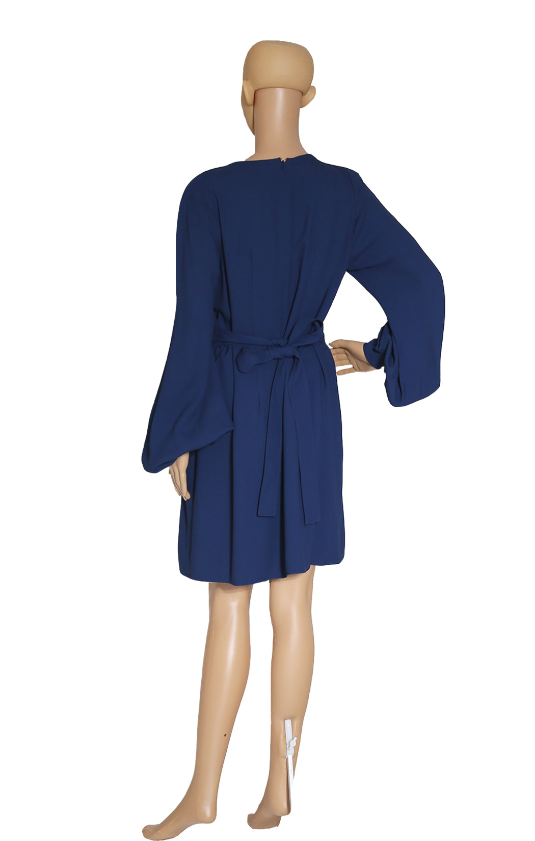 Back view of CHLOE  Navy Dress