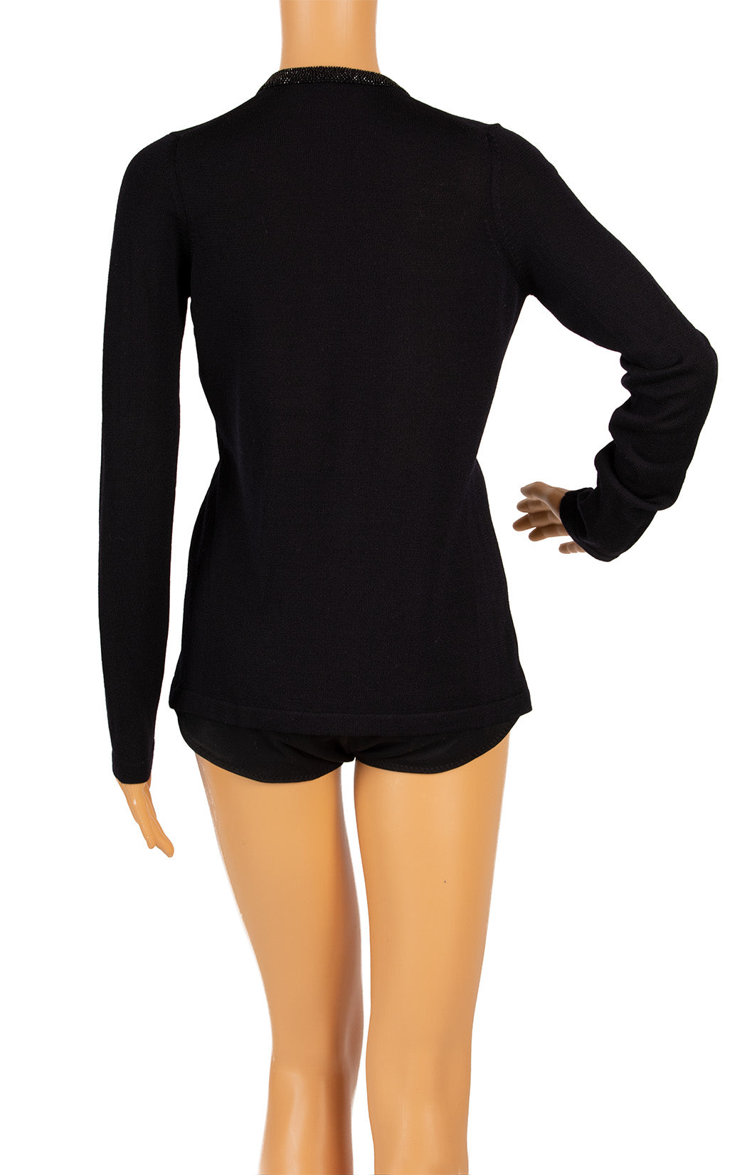Back view of DONNA KARAN Sweater Size: XS
