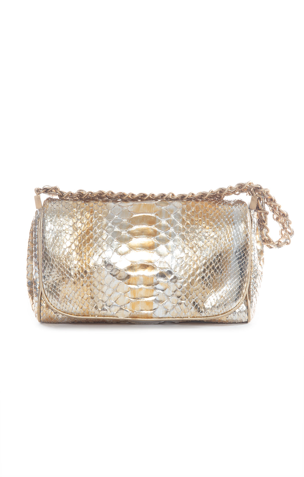 "Front view of CHANEL Shoulder Bag Size: 10.5"" x 6"" x 2"""