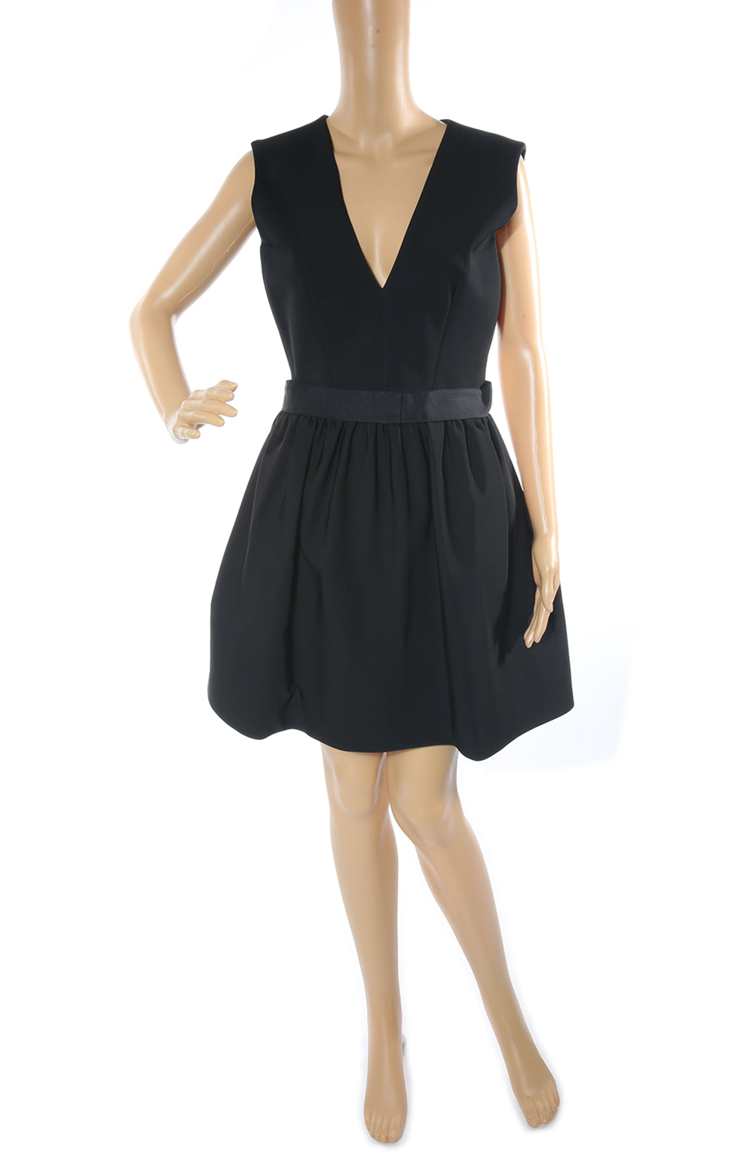 Front view of VICTORIA BECKHAM Dress with Tags Size: US 10