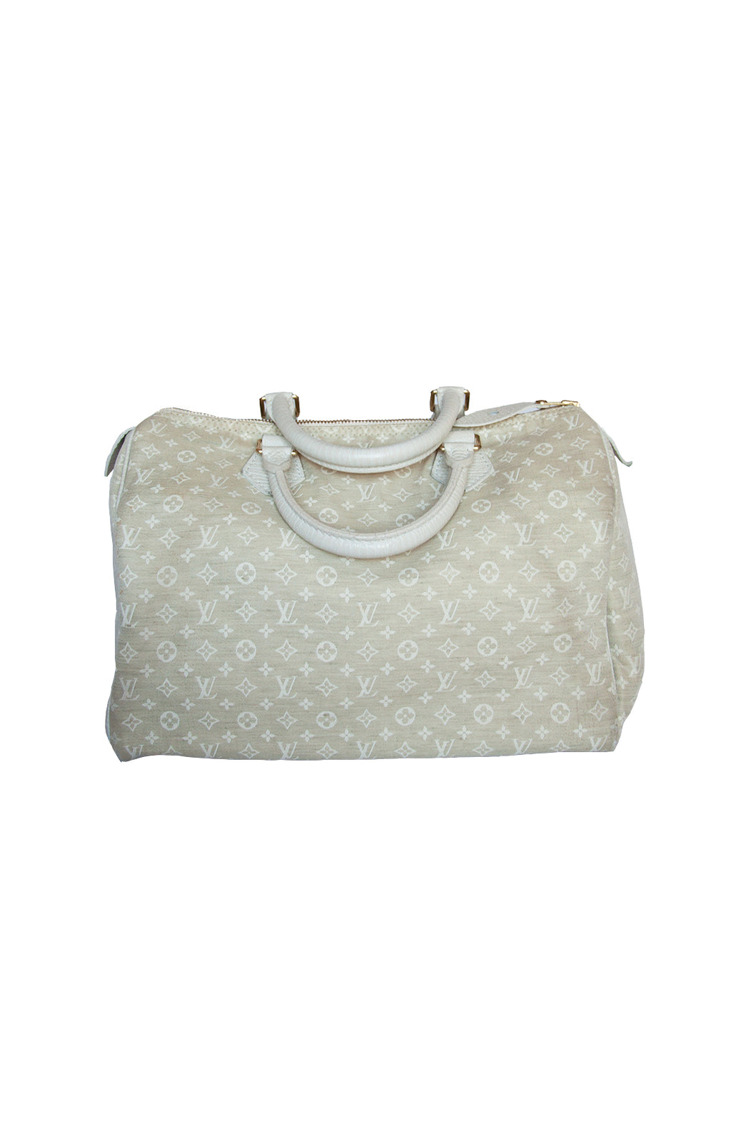 Front view of LOUIS VUITTON Handbag Size: 12 in. x 9 in. x 7 in.