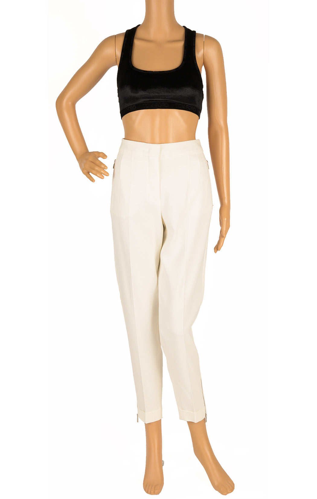 Front view of SPORTMAX with tags Pant Size: 4