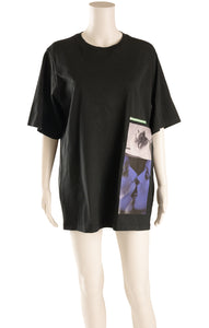 Front view of MERT & MARCUS X DSQUARED T-shirt Size: XS (oversized)