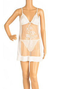 Front view of LA PERLA  Nightgown Size: Large