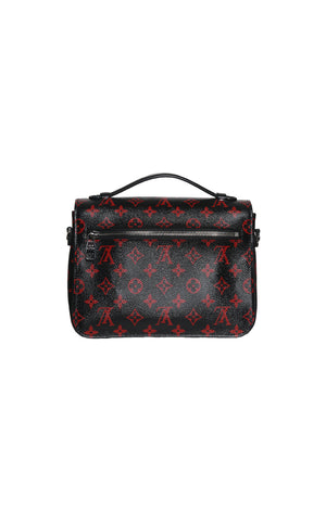 Back view of LOUIS VUITTON  Logo Satchel