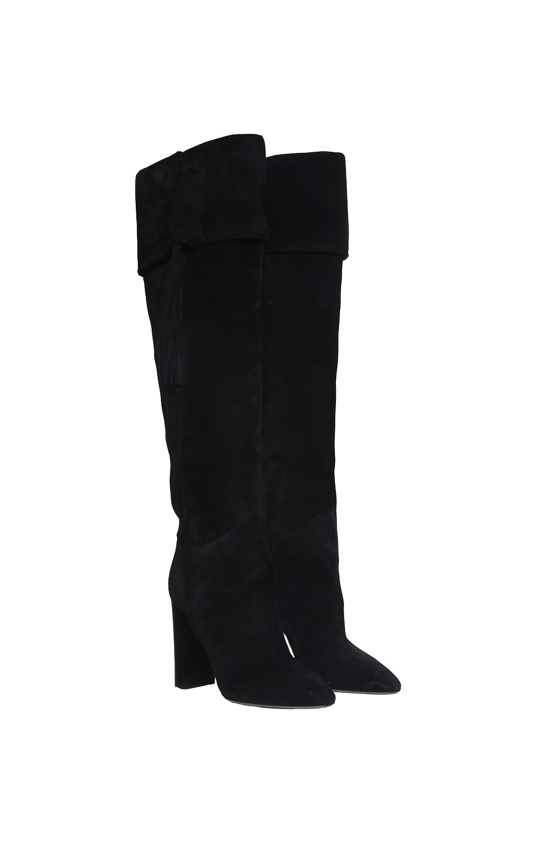 Front view of SAINT LAURENT Boot Size: 38.5 (US 8.5)
