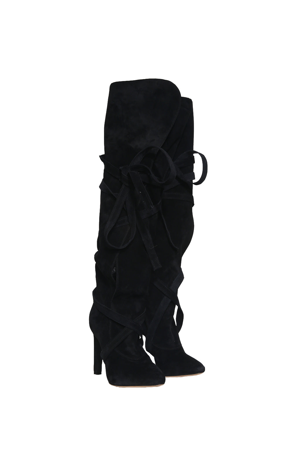 Front view of SAINT LAURENT  Over the knee boot Size 38.5