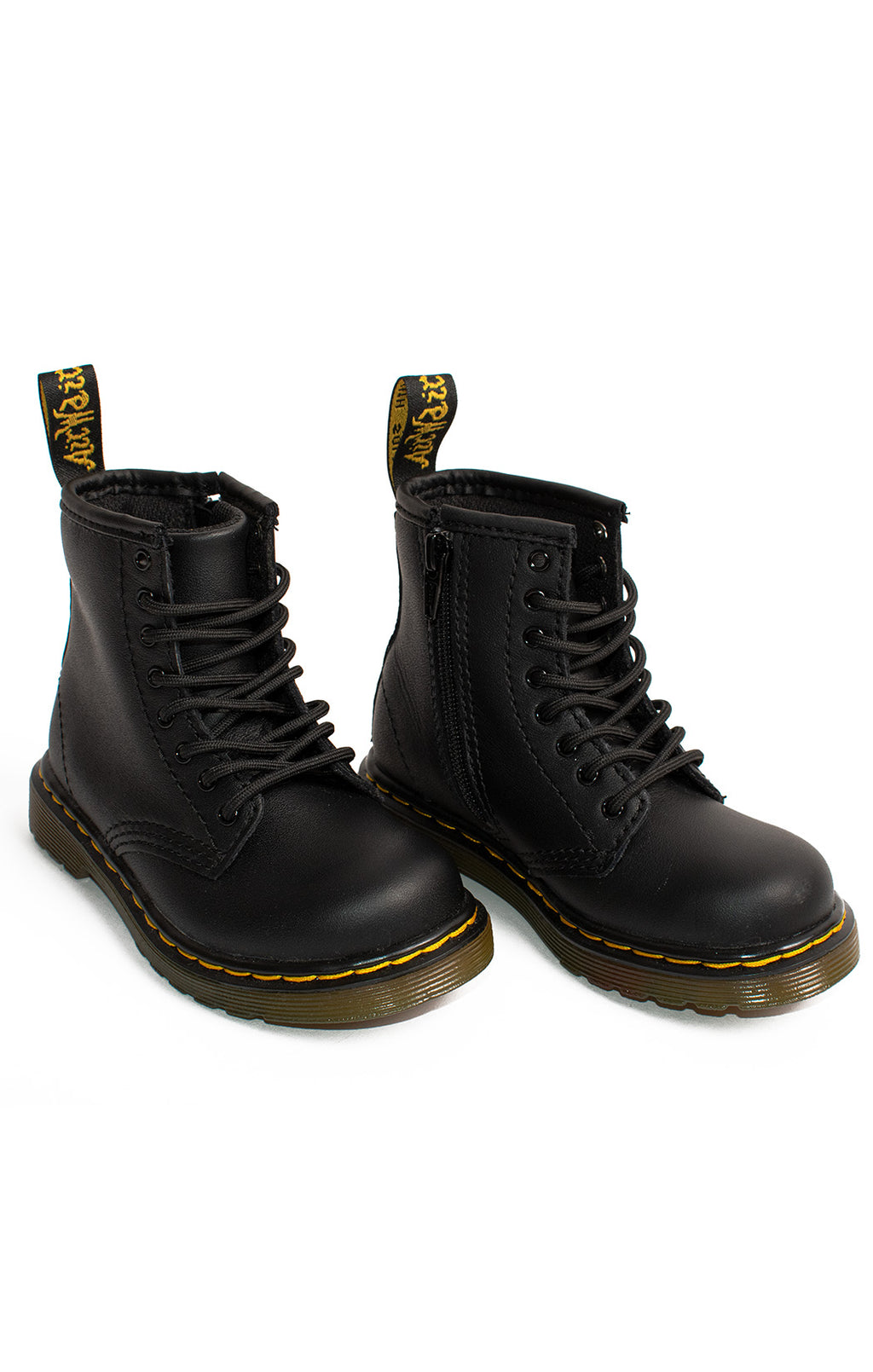 Front view of DR MARTENS  Boots Size: 8 children