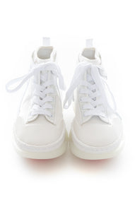 Front view of ALEXANDER WANG Tennis shoe Size: 8