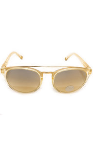 "Front view of ETNIA Sunglasses Size: 5"" L x 2"" W"