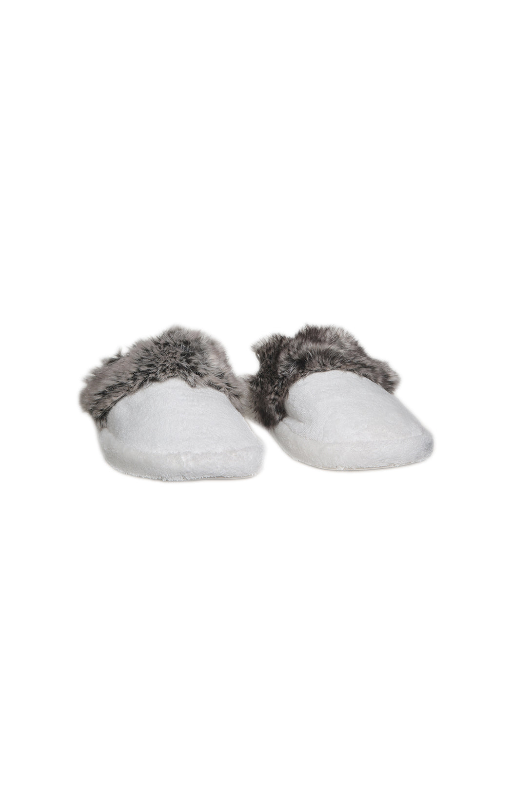 Front view of POTTERY BARN Slippers Size: Medium