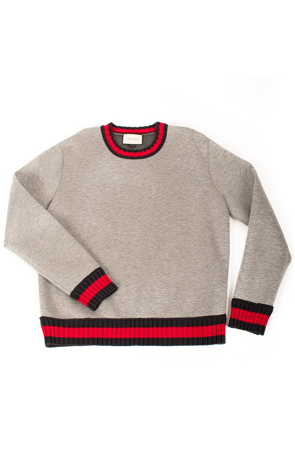 Front view of GUCCI  Sweatshirt Size: No size tags fits like XL
