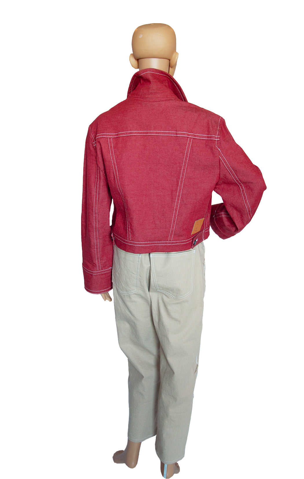 Back view of COLOVOS Matching Jacket and Pant