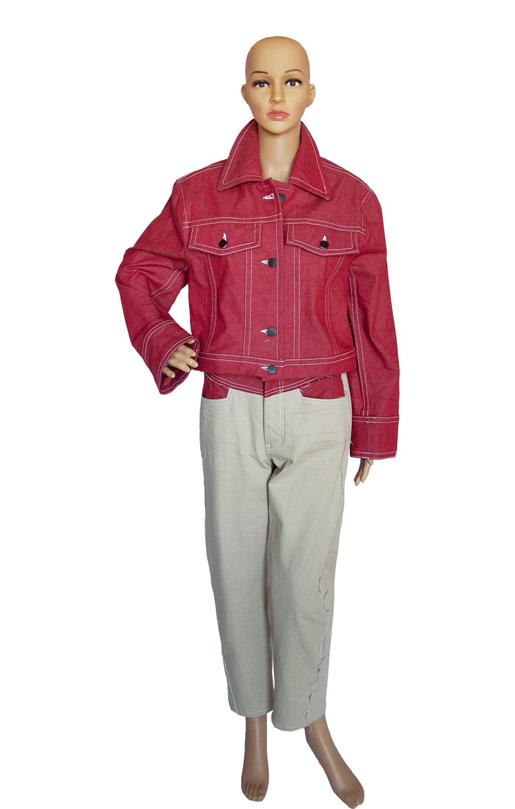 Front view of COLOVOS Matching Jacket and Pant Jacket Size: M, Pant Size: Waist 29 in.