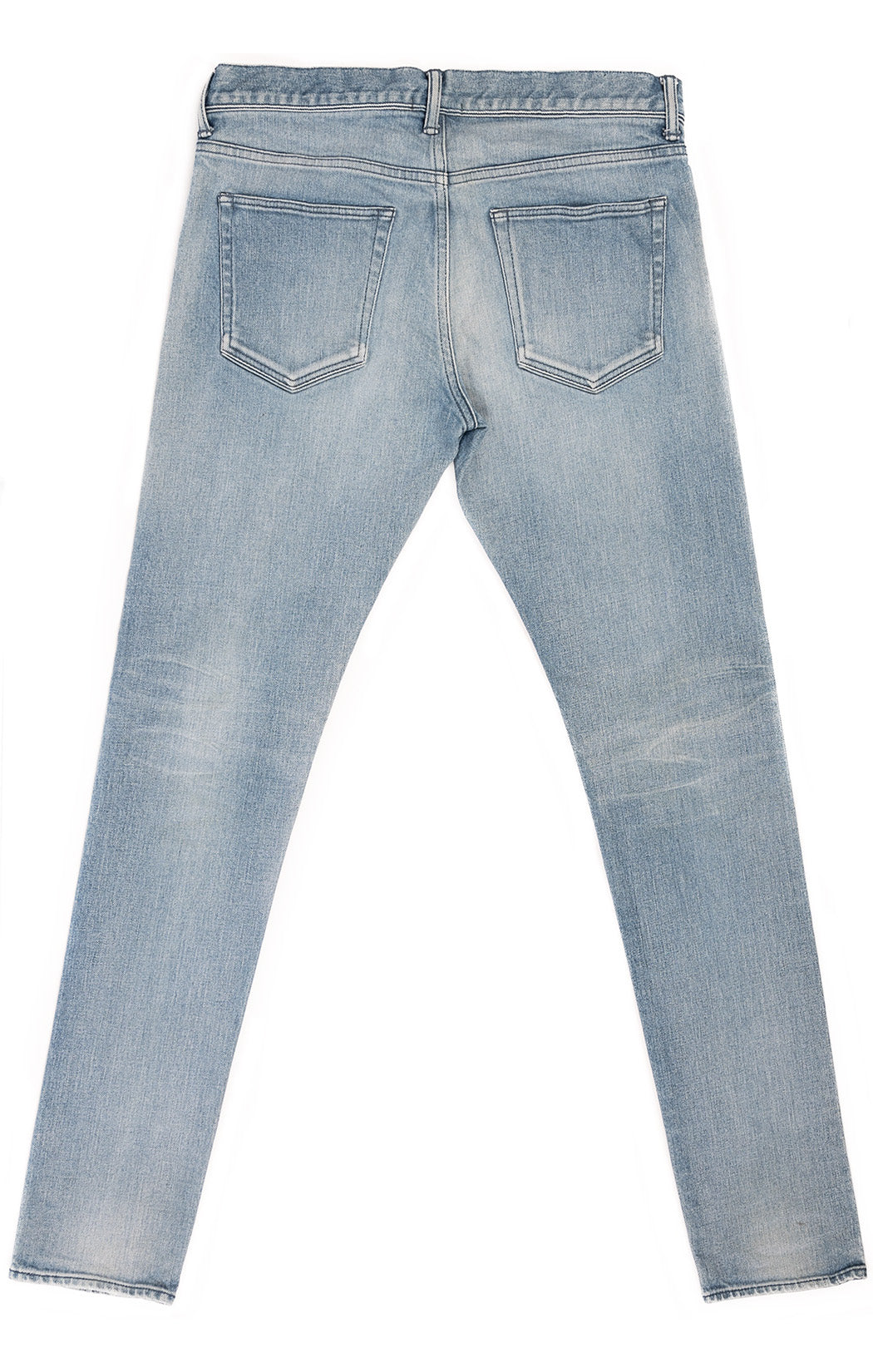 Denim five pocket jeans