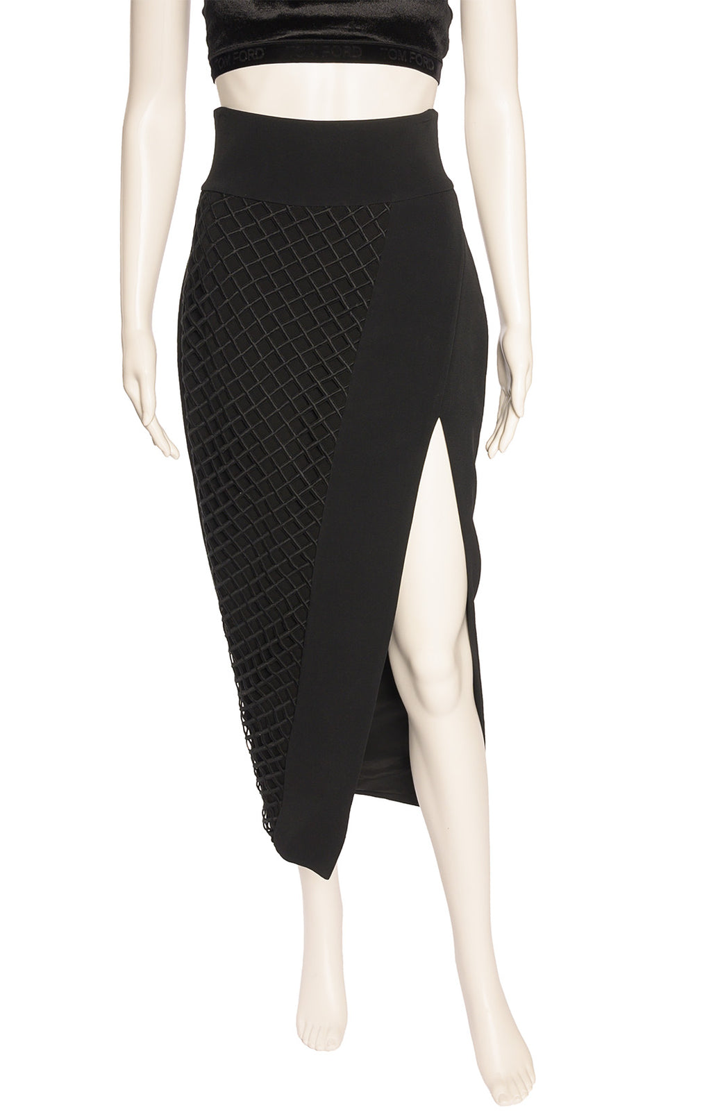 Front view of DAVID KOMA Skirt Size: 10