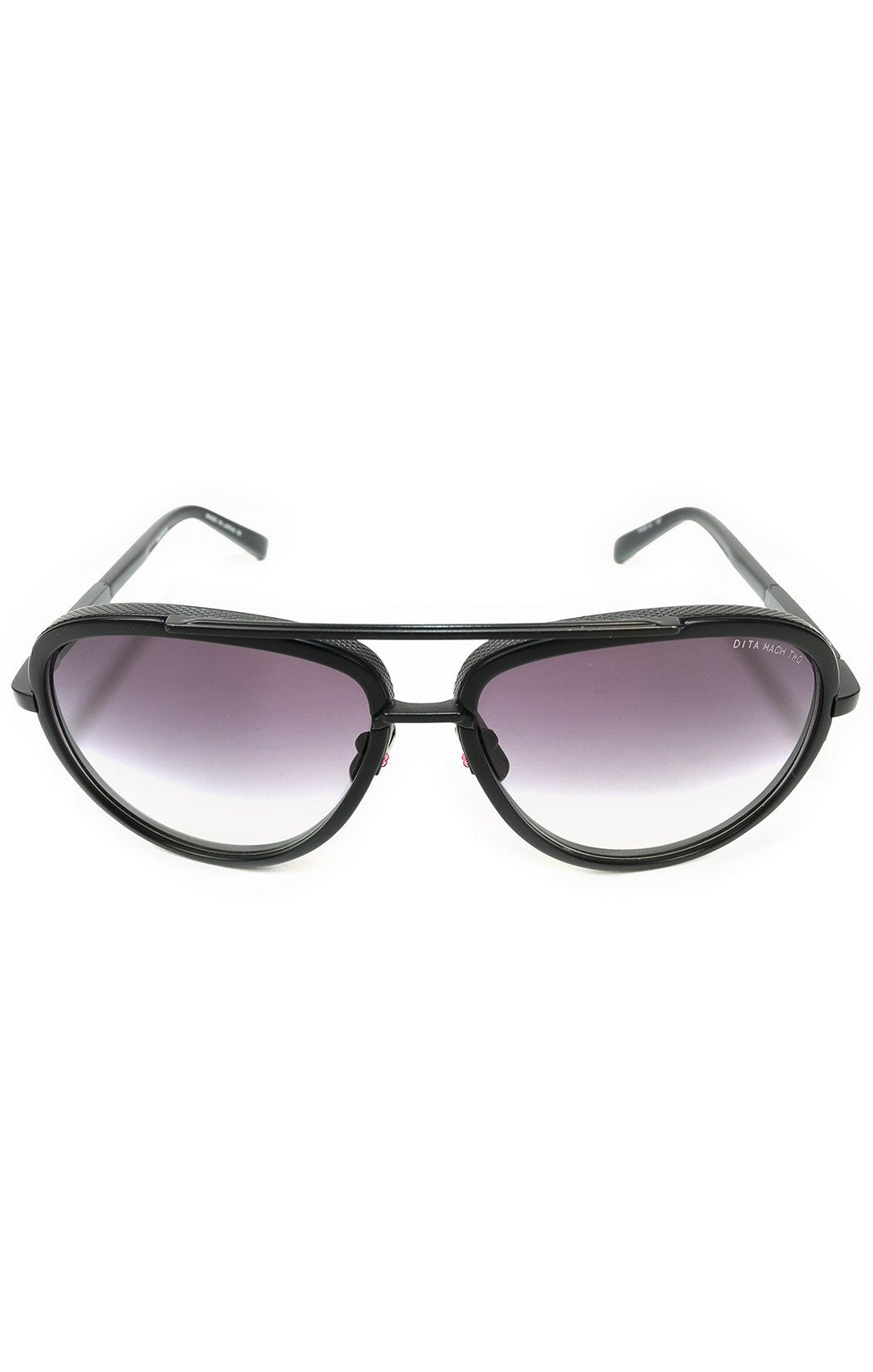 "Front view of DITA BELIEVER Sunglasses Size: 5.5"" L x 2.25"" W"