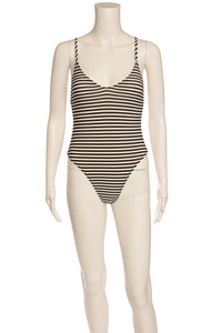 Front view of NORMA KAMALI with tags One piece bathing suit Size: XS