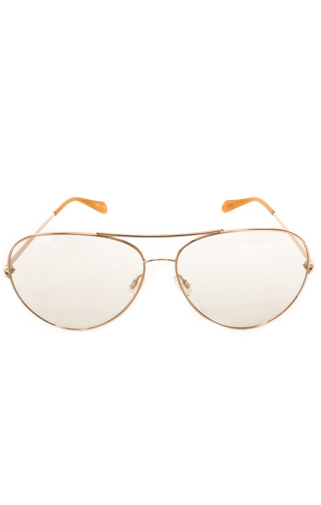 "Front view of OLIVER PEOPLES Sunglasses  Size: 5.75"" W x 2.2"" H"