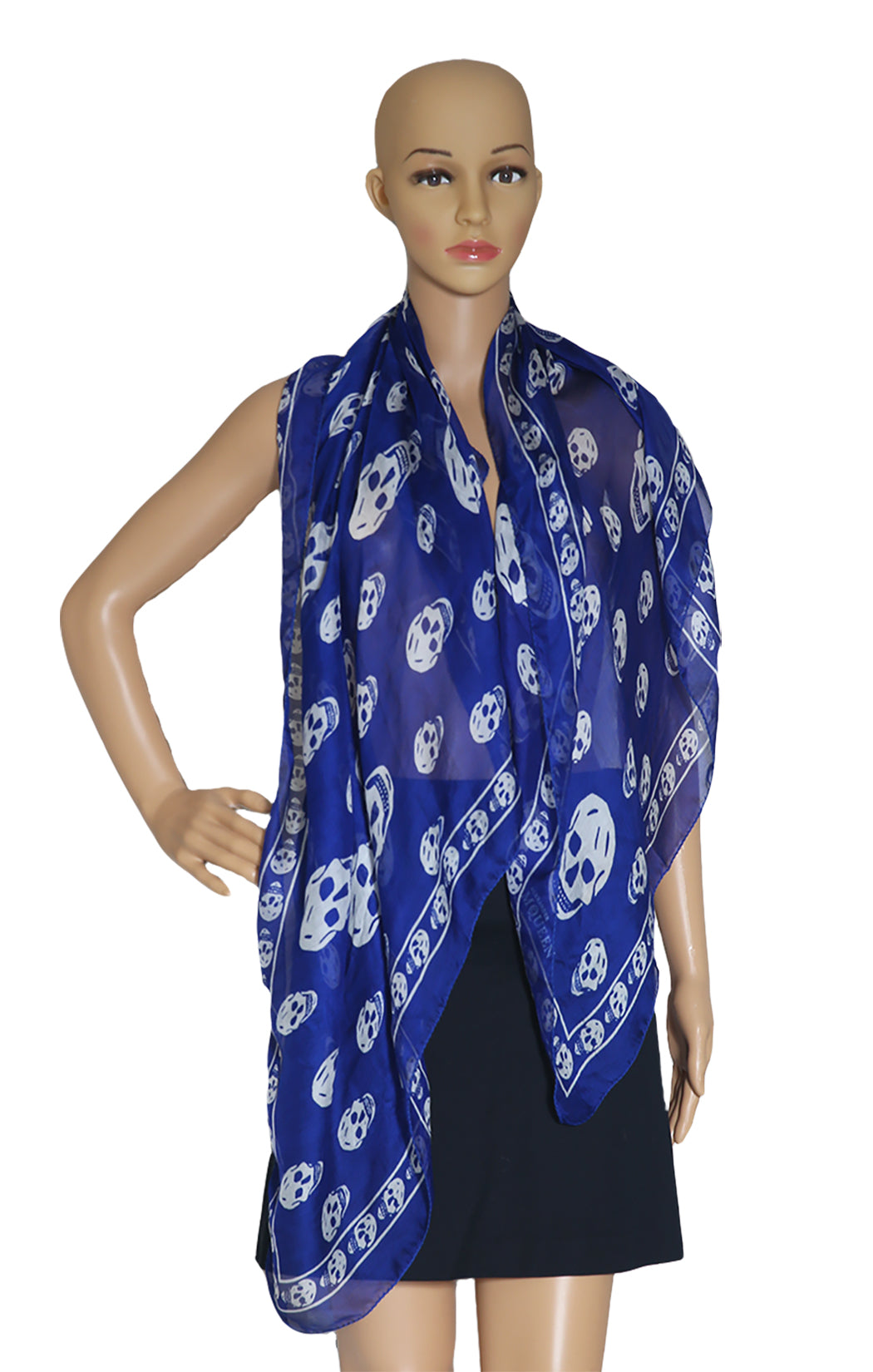 Closeup of ALEXANDER McQUEEN  Scarf  One Size: Dimensions 44 x 82 in.