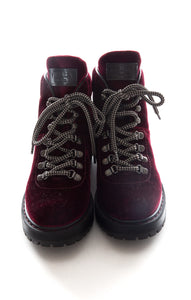 Front view of PRADA Hiking boots Size: 8.5