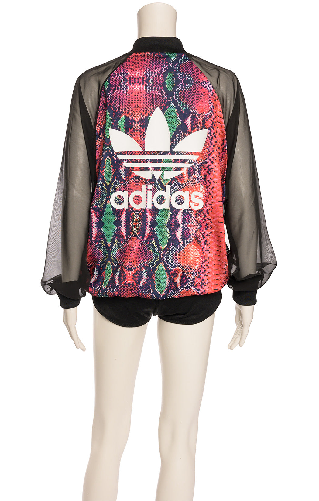 Back view of ADIDAS with tags Jacket