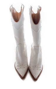 Front view of NAKED WOLFE Cowboy boots  Size: 8