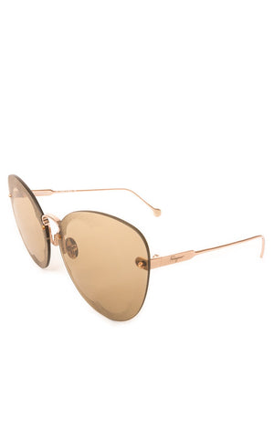 Side view of FERRAGAMO Sunglasses