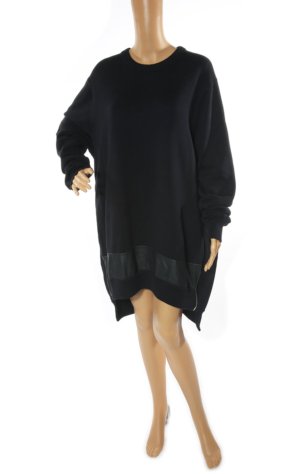 Front view of GIVENCHY Tunic Sweater Dress Size: No tags, fits like large