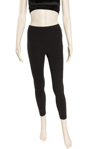 Front view of LULULEMON Leggings Size: no tags fits like S/M