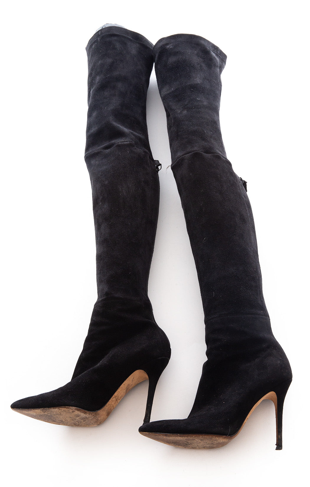 Side view of BRIAN ATWOOD Over the knee boots Size: 9