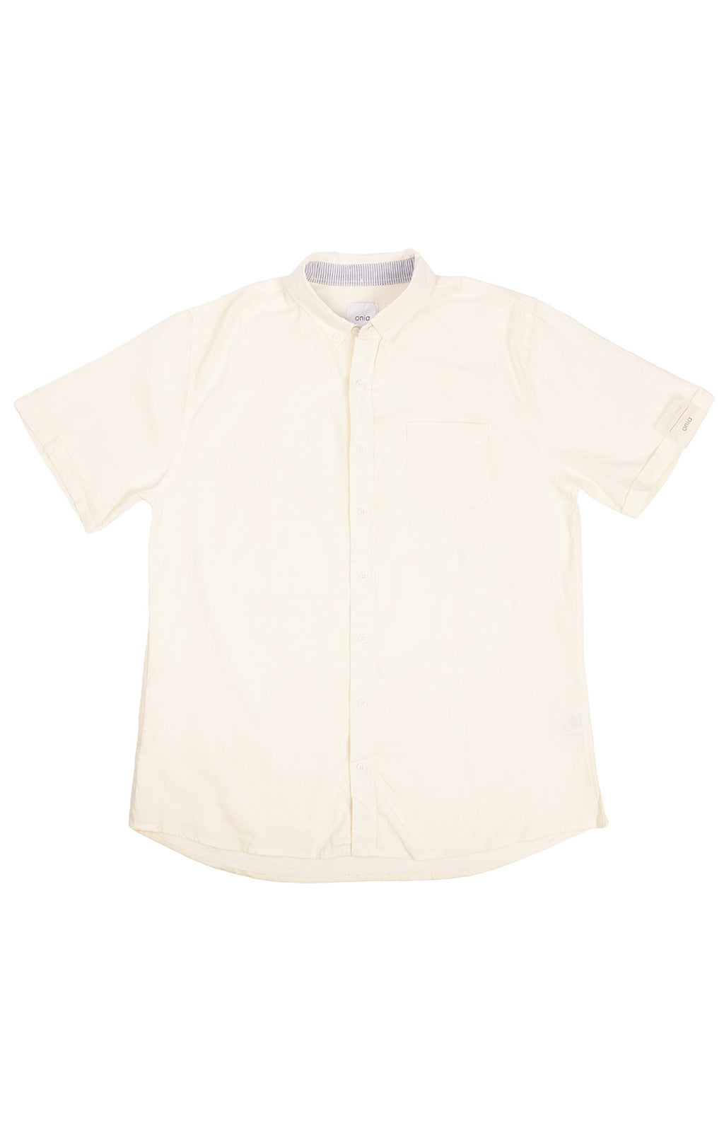 White Shirt sleeve button down shirt