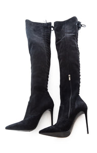Side view of LE SILLA Over the knee boots Size: 9
