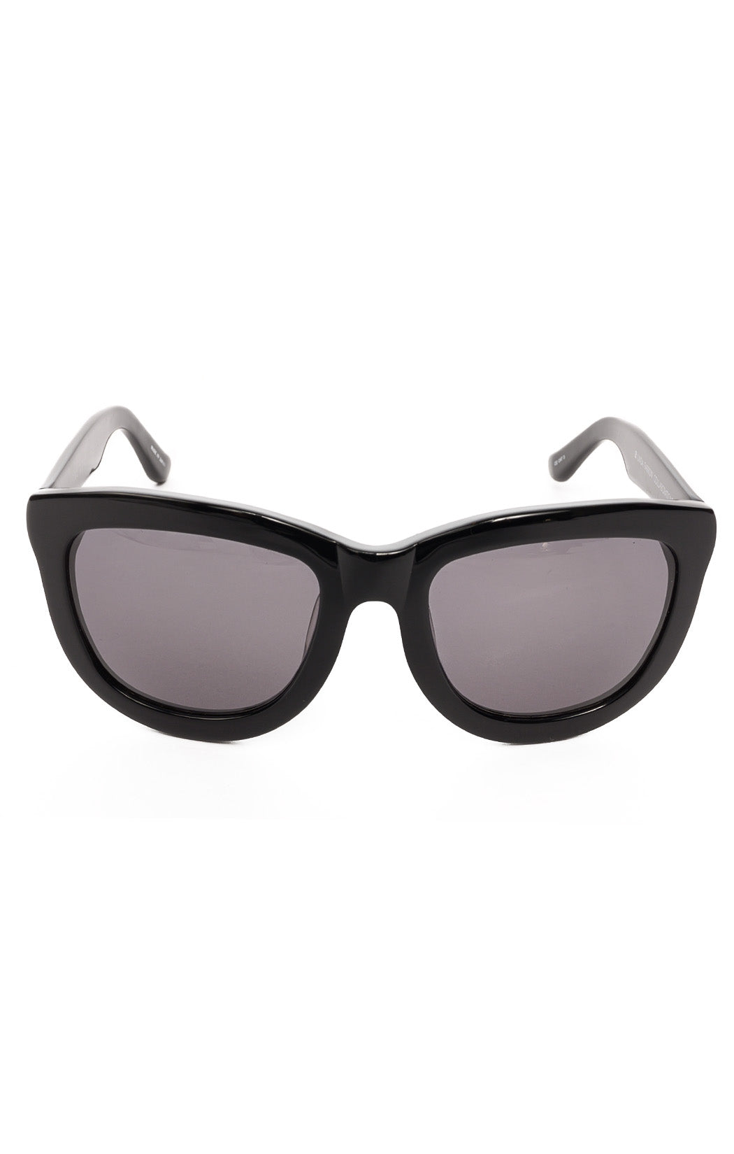 "Front view of THE ROW x LINDA FARROW  Sunglasses  Size: 5.75"" W x 2.25"" L"