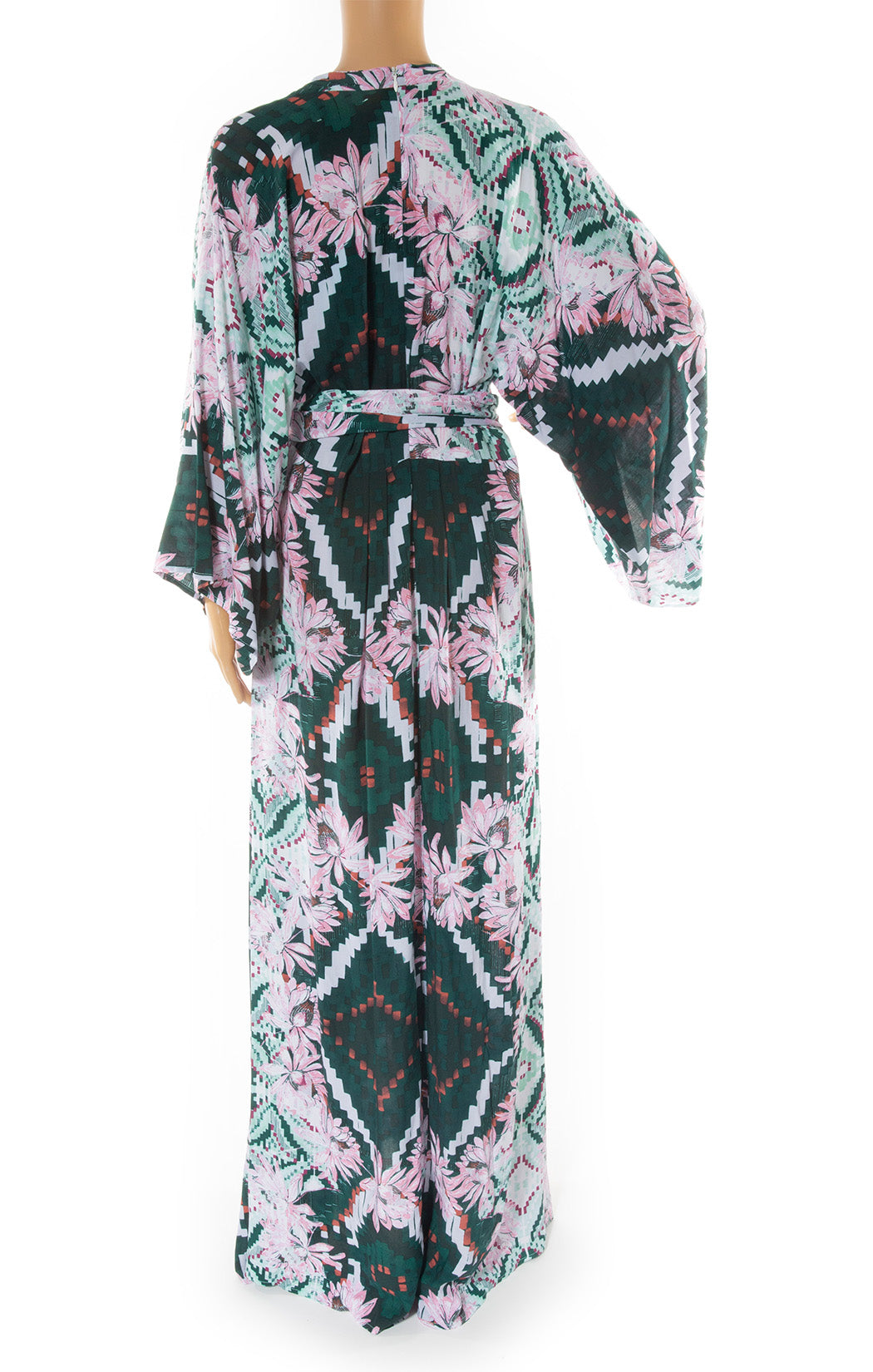 Back view of MELISSA ODABASH Caftan