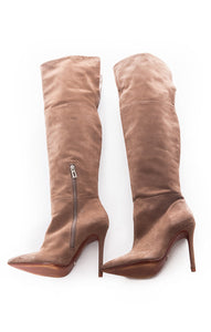 Side view of SCHUTZ Over the knee boots Size: 8