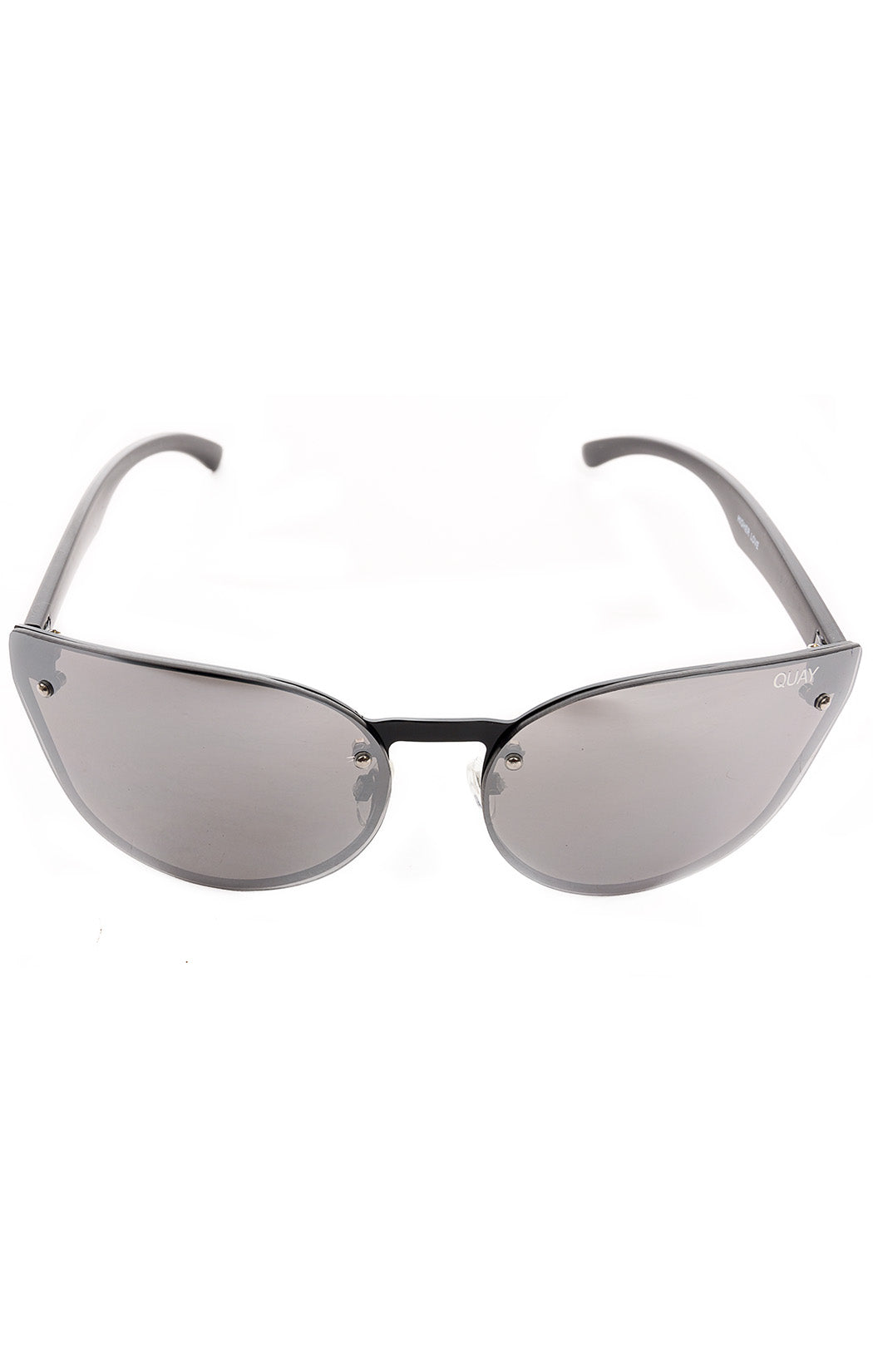 "Front view of QUAY  Sunglasses Size: 6"" W x 2.25"" L"