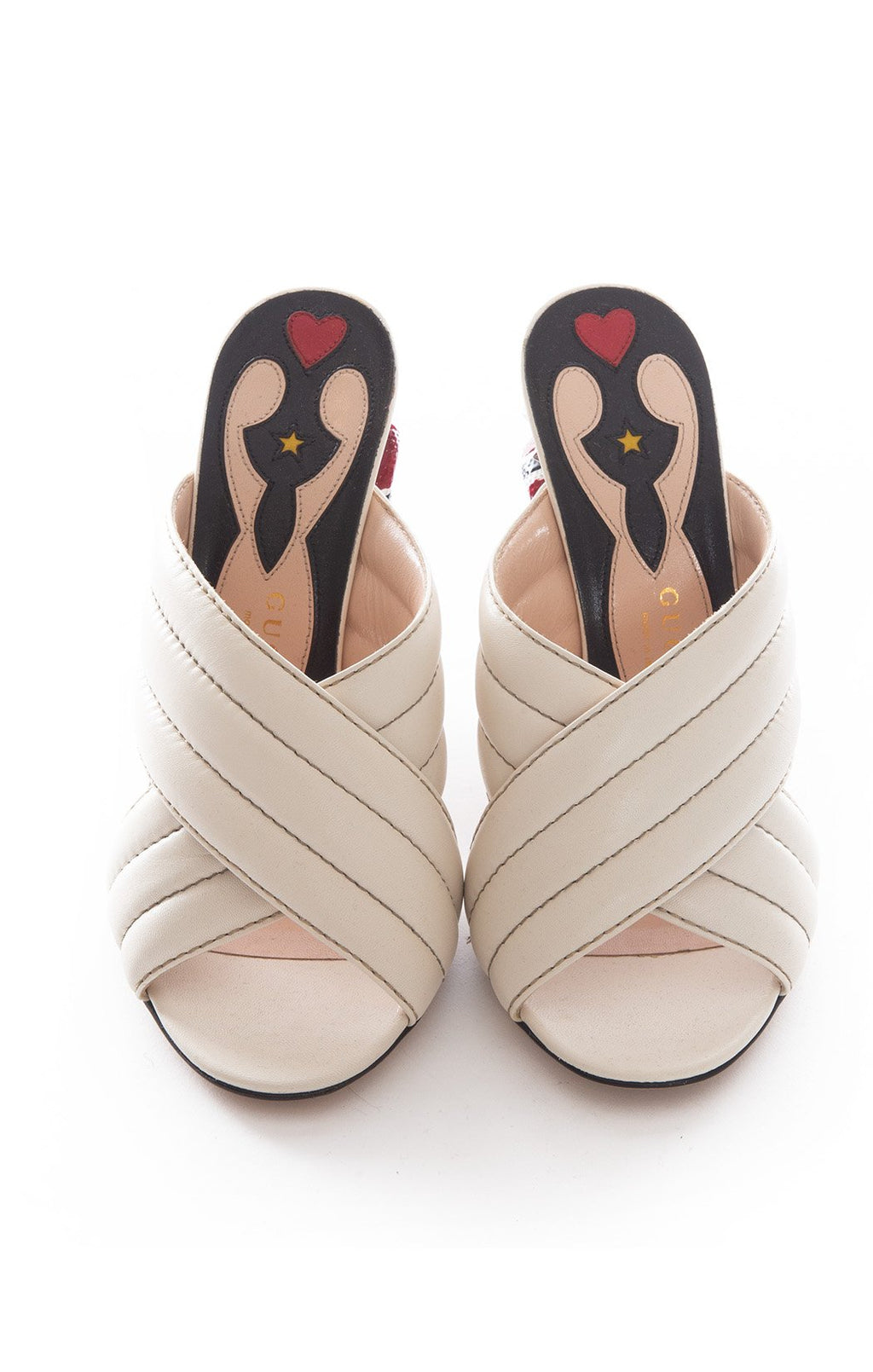 Front view of GUCCI  Sandals Size: 39