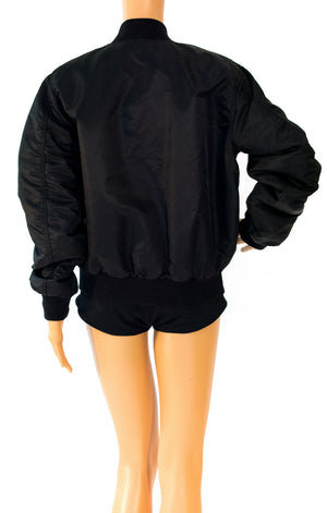Back view of SSS World Corp w/tags Puffer jacket