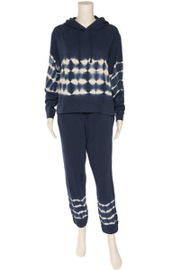 Front view of SPLENDID with tags Sweat outfit Size: Top - Small, Pants - Medium