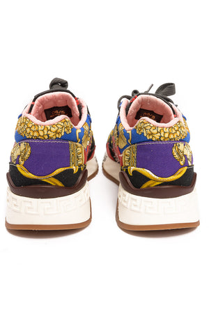 Back view of VERSACE Tennis shoe