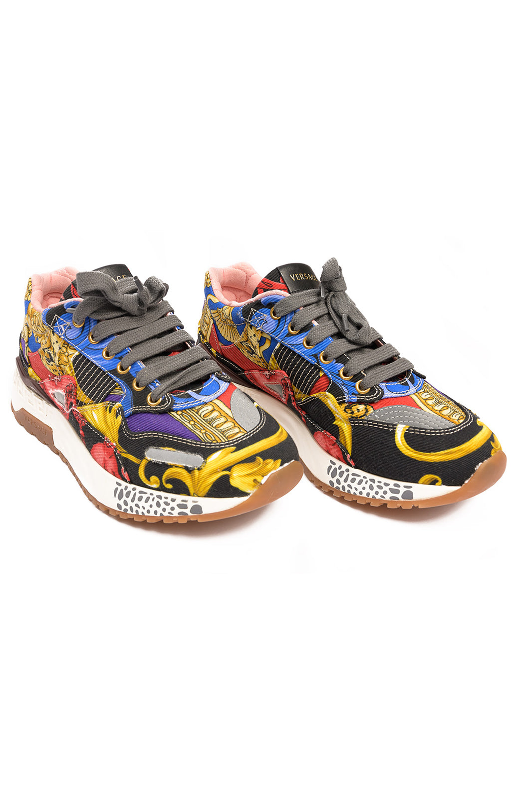 Front view of VERSACE Tennis shoe Size: 5
