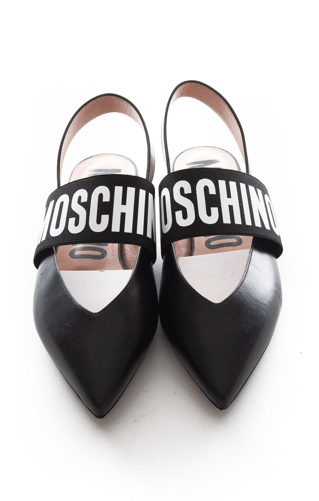 Front view of MOSCHINO Flats Size: 38