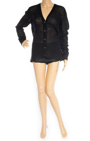 Front view of MICHAEL KORS Collection w/tags Cardigan