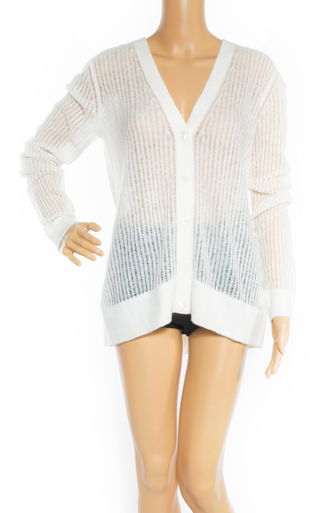 Closeup view of MICHAEL KORS Collection w/tags Cardigan Size: Medium