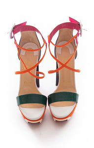 Front view of CHRISTIAN LOUBOUTIN Sandals Size: 8