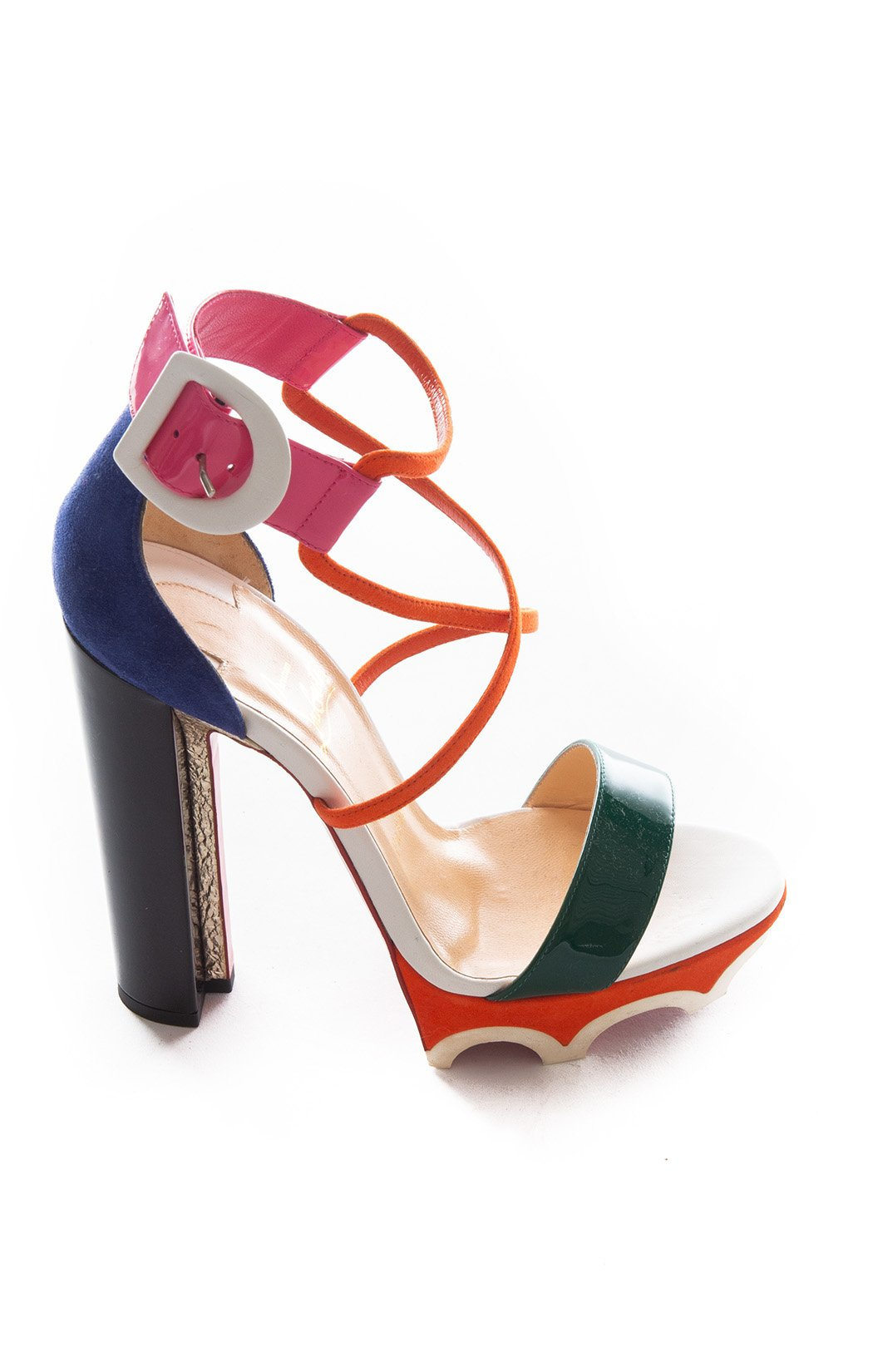 Side view of CHRISTIAN LOUBOUTIN Sandals