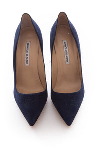 Front view of MANOLO BLAHNIK Pumps Size: 8
